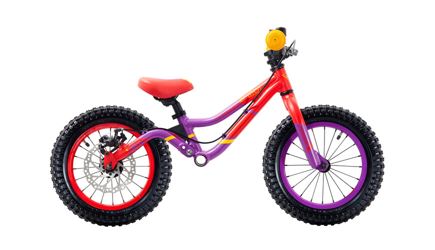 """s'cool pedeX Dirt 14"""" violett/red matt"""
